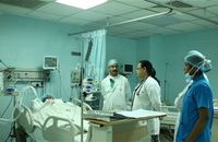 ICU Patient Observation by Doctor