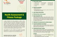 Health Assessment Fitness Package UHL